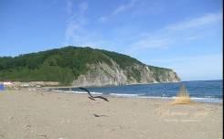 Участок на берегу моря с песчаным пляжем Рязановка, Красный утес. 12 500 кв.м., аренда, от агентства недвижимости (посредник). Фото участка