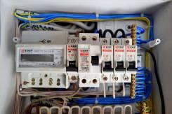 Установка электросчетчиков.