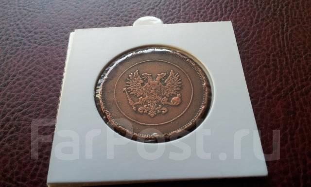 Русская Финляндия! Редкие 10 пенни 1917 года. Низложение короны!