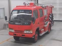 Isuzu Elf. пожарный, мостовой 4WD, состояние нового, 4 600 куб. см., 2 000 кг. Под заказ