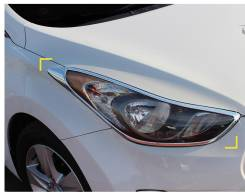 Накладка на фару. Hyundai Avante, MD Hyundai Elantra, MD
