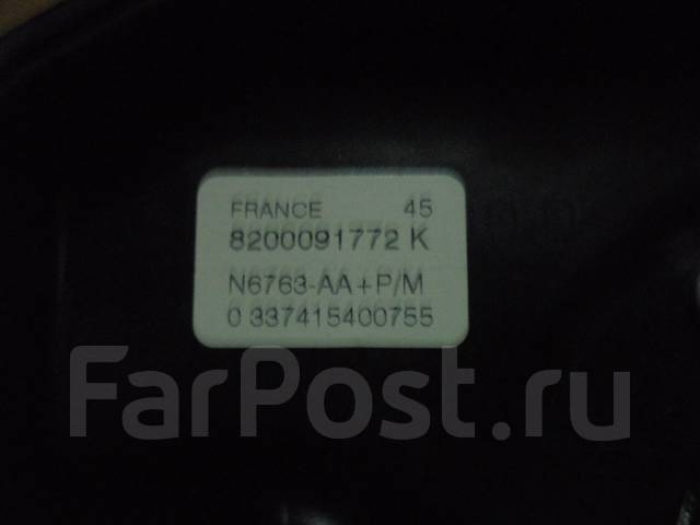 Подушка безопасности. Renault Kangoo