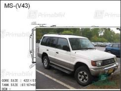 Радиатор двигателя Mitsubishi PAJERO 1991- (V2#-V5#) *422 (6G72) (PA)