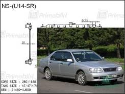 Радиатор двигателя Nissan BLUEBIRD 1996- (U14) (SR18-20, CD20) (PA)