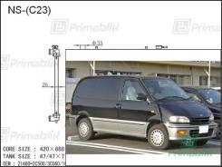 Радиатор двигателя Nissan SERENA 1991- (C23)/*420 (SR20, CD20) (PA)