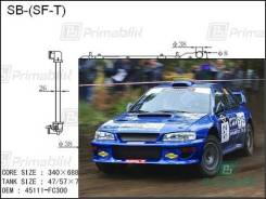 Радиатор двигателя Subaru IMPREZA 1992- (GC, GF, GM) SF-T turbo (EJ20-T) (PA*26)