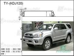 Радиатор двигателя Toyota Hilux SURF 2002- (N21#) dies б/г (1KD, 1KZ) (PA) KDN215