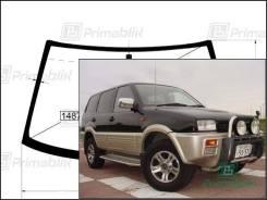 Лобовое стекло Nissan MISTRAL 1993-1999 (R20) пятак-зерк (Без оттенка, Бренд:ВSG)