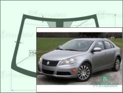 Лобовое стекло Suzuki KIZASHI 2009-2014 (RE91)RHD окно/датчик молд. (Зеленоватый оттенок, Бpeнд:Benson)