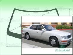 Лобовое стекло Lexus LS 1994-2000 (XF20) Lexus LS400 (Зеленоватый оттенок с зеленым козырьком, Бренд:ВSG)