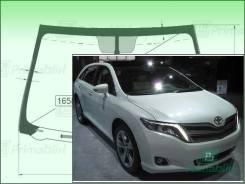 Лобовое стекло Toyota VENZA 2008- (GV10-панорама)LHD обогрев (Атермальное, зеленоватый оттенок с зеленым козырьком, Бренд:FУG)