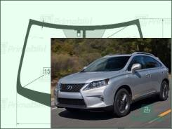 Лобовое стекло Lexus RX 2008-2015 (AL10)( RHD) Lexsus RX450h / RX270 / RX350 пятак-зерк обогрев-дворн датчик (Зеленоватый оттенок, Бренд:УНG)