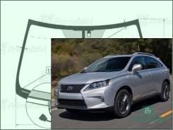 Лобовое стекло Lexus RX 2008-2015 (AL10)(LHD ) Lexsus RX450h / RX270 / RX350 пятак-зерк обогрев-дворн датчик (Зеленоватый оттенок, Бренд:УНG)