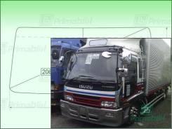 Лобовое стекло Isuzu FORWARD 1994- (std-FTR) 2002*865*2061 (Зеленоватый оттенок с зеленым козырьком, Бренд:ВSG)