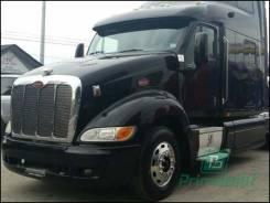 Лобовое стекло Peterbilt T-ser Truck 1997- (T387) 2095*756* молд. (Зеленоватый оттенок с зеленым козырьком, Бpeнд:Benson)