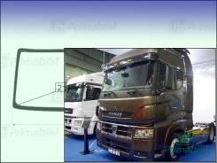 Лобовое стекло KamAZ 5490/5590 Truck 2012- (Cab over) 2126*802*2195 (Зеленоватый оттенок с синим козырьком, Бренд:УНG)