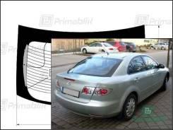 Заднее стекло Mazda 6 2002-2008 (5d h-b-GG) (Без оттенка, Бренд:ВSG)