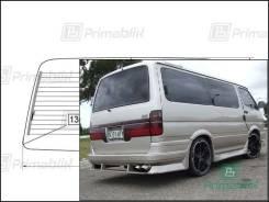 Заднее стекло Toyota HIACE 1989-2004 (Н100-в резин) (Без оттенка, Бренд:УНG)