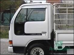 Стекло боковое Isuzu ELF-Nissan Atlas 1991- (H41/45W/F23) FV/LH/X форточка (Без оттенка, Бpeнд:Benson)