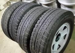 Комплект Bridgestone 205/70R14 на дисках б/п по РФ. 6.0x14 5x139.70 ET25 ЦО 108,0мм.