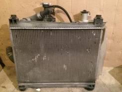 Радиатор охлаждения двигателя. Toyota Funcargo, NCP25