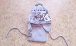 Шапка и шарф. Рост: 86-98 см