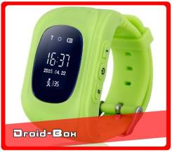 Детские Умные ЧАСЫ-Телефон Wonlex Smart Watch Q50. Оригинал. Зеленые.
