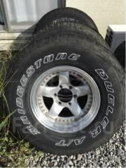 Отличные Bridgestone AT 285/75/16 на разборной ковке Bradley -6/8.5/16. 8.5x16 6x139.70 ET-6