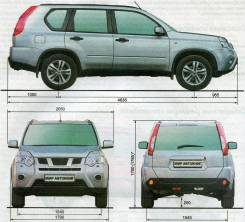 Зеркало салона NISSAN X-TRAIL T31 MR20