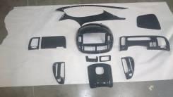 Консоль центральная. Toyota Estima, ACR30, ACR40, AHR10, MCR30, MCR40 Двигатели: 2AZFE, 1MZFE, 2AZFXE