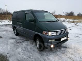 Toyota Hiace Regius. автомат, 4wd, 3.0 (95 л.с.), дизель, 190 000 тыс. км