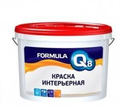 Краска Престиж FORMULA Q8 ВД интерьерная белоснежная полиакриловая 25 кг