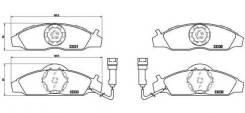 Тормозные колодки передние SSANG YONG Musso Korando KJ OM 662 M104 M111 Family Akyoto AKD-0145