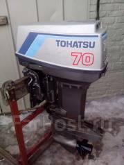 Tohatsu. 70,00л.с., 2-тактный, бензиновый, нога L (508 мм), Год: 1999 год