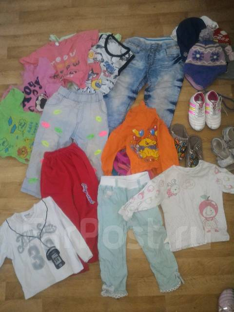 Продам огромную кучу детских вещей с рубля. Рост: 86-92, 98-104 см