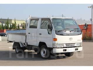 Toyota Dyna. Двухкабинник, 2 800 куб. см., 1 250 кг. Под заказ