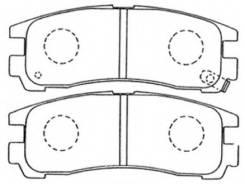 Тормозные колодки задние MITSUBISHI GALANT E52A E54A E55A 99- MB407659 Akyoto AKD-1078