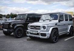 Ободок фары. Mercedes-Benz G-Class, W463