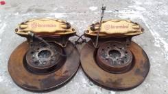 Суппорта+диски+шланги Перед Brembo Subaru 5*100 5*114 Impreza Forester. Subaru Legacy Subaru Forester, SF5, SG5, SG9, SG Subaru Impreza, GF8, GD, GDB...