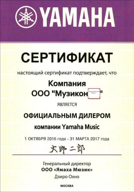 Магазин Musicon - сертифицированный дилер Yamaha, Casio, Roland