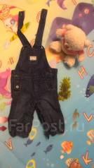 Комбинезоны джинсовые. Рост: 50-60 см