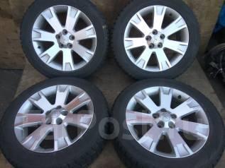Продам зимние шины 225/55R18 на литых дисках. x18 5x114.30 ET35