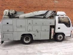 Isuzu Elf. Продается уникальная малогабаритная автовышка на базе Исузу Эльф, 4 334 куб. см., 15 м.