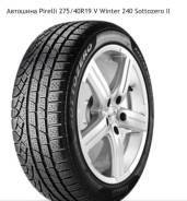 Pirelli Winter Sottozero II. Зимние, без шипов, 2016 год, без износа, 1 шт