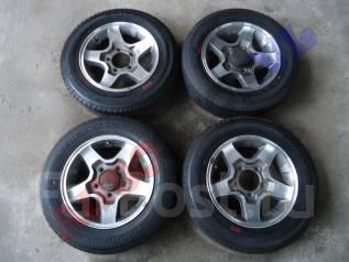 Литые диски с резиной Yokohama Geolandar / Bridgestone Dueler R16. 5.5x16 5x139.70