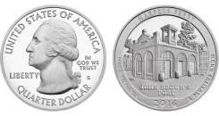 25 центов 2016 Западная Виргиния Национальный исторический парк Харпер