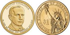 1 доллар 2014 Калвин Кулидж