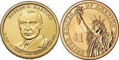 1 доллар 2014 Уоррен Гардинг