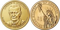 1 доллар 2015 Линдон Джонсон