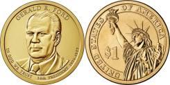 1 доллар 2016 Джеральд Форд